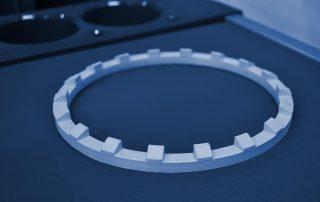 Abstandshalter im 3D-Druck hergestellt