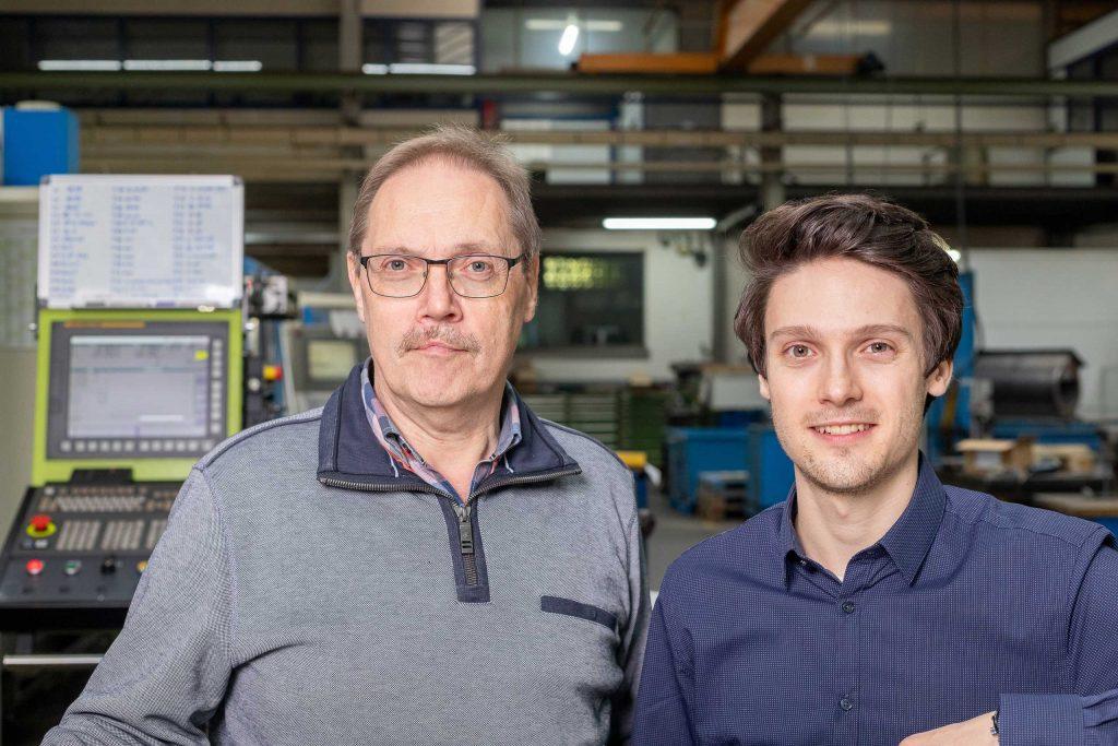 Dipl. Ing. Johannes Hümmler und M.Sc. Steffen Hümmler
