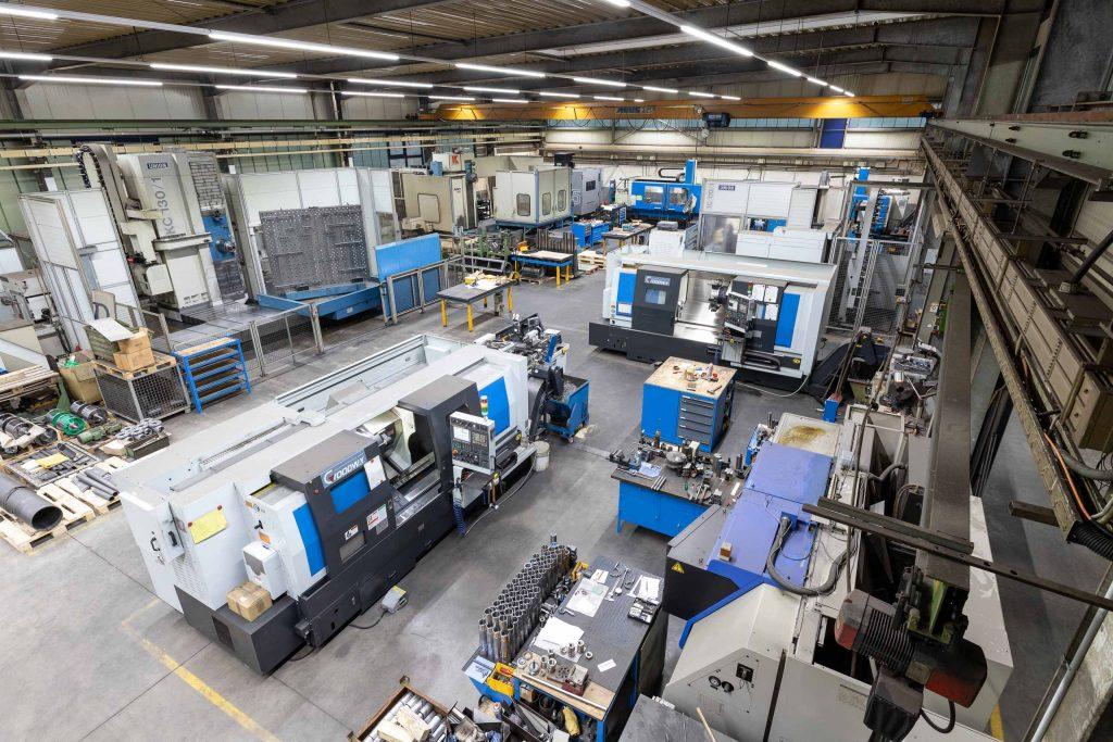 Maschinenpark - Hümmler Maschinenbau