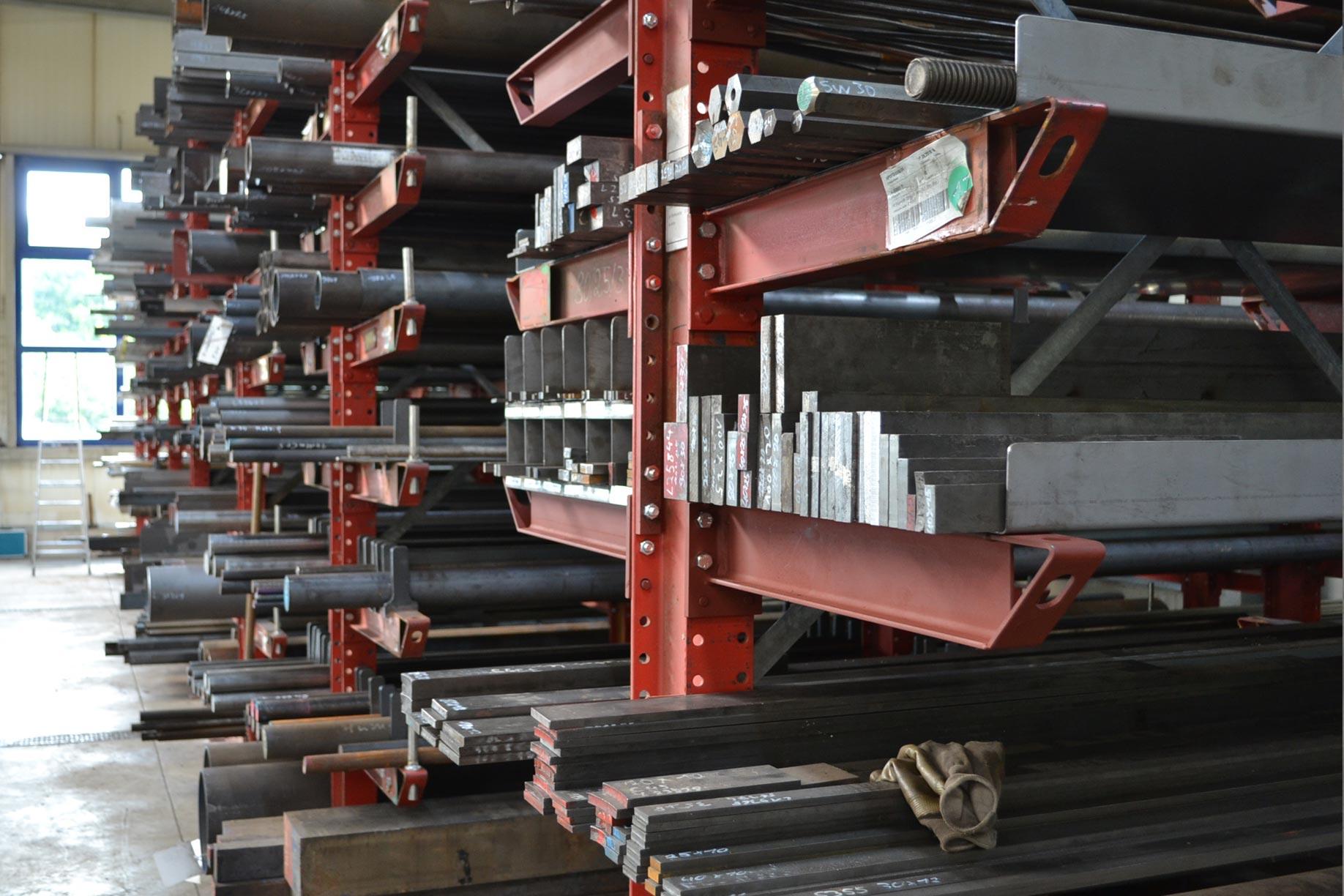 Stahl- und Edelstahllager