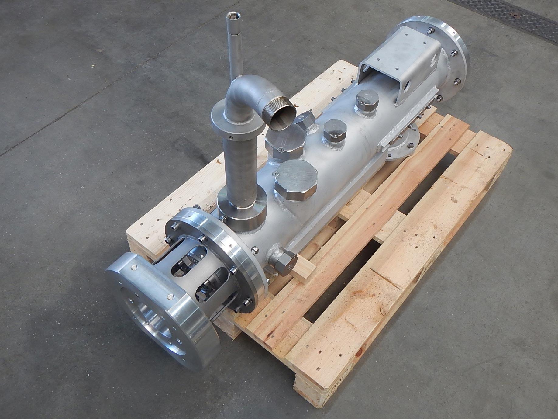 Systemkomponente zum Mischen von Sprengstoff